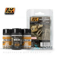 WOOD WEATHERING SET
