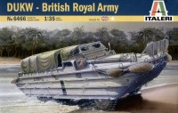 Модель бронеавтомобиля DUKW - British Royal Army