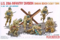 U.S. 29th Infantry Divison Omaha Beach D-Day 1944
