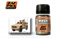 WASH FOR OIF & OEF - US VEHICLES