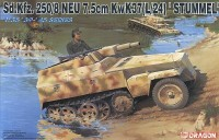 Dragon 6102 Sd.Kfz. 250/8 NEU 7.5cm KwK37(L/24) 'STUMMEL'