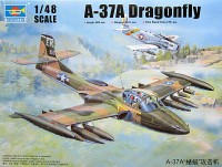 Американский самолет US A-37A Dragonfly Light Ground-Attack Aircraft