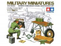 Tamiya 35220 German Kubelwagen Engine Maintenance Set