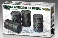 German  200L Oil Drums