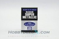 Краска металлик Mr.Color Super metallic - SUPER STAINLESS