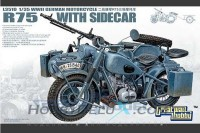 German BMW R75 with Sidecar/w trailers