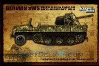 German sWS General Cargo Version with 3.7cm FlaK43