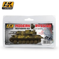 MODERN RUSSIAN WEATHERING SET