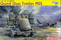 Dragon 6210 1/35 QUAD GUN TRAILER M55 (SMART KIT)
