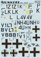 Декали Print Scale Junkers JU-52 Wet decal