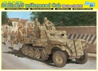 Dragon 6677 1/35 Sd.Kfz.10/5 w/Armored Cab fur 2cm FlaK 38
